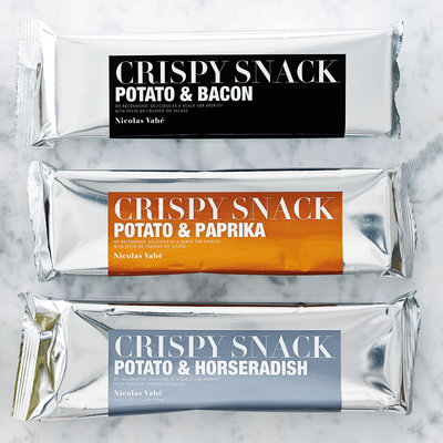 Nicolas Vahé - Crispy snack Potato & bacon
