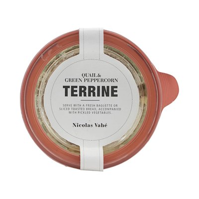 Nicolas Vahé - Terrine with quail & green peppercorn