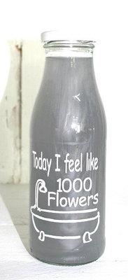 (Op) de Maalzolder - Badeschaum Today I feel like 1000 flowers