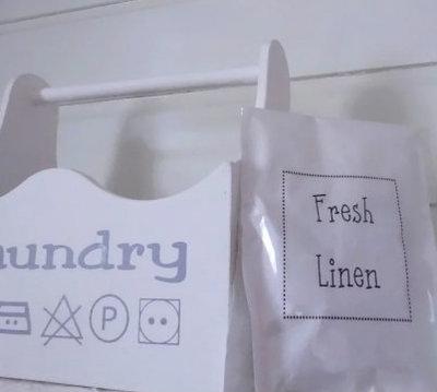 (Op) de Maalzolder - Dufttasche Fresh linen