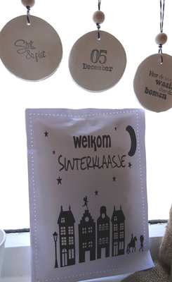 (Op) de Maalzolder - Dufttasche Welkom Sinterklaasje