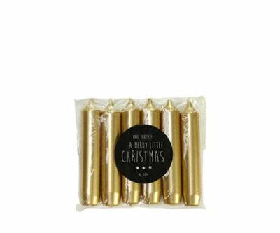 Rustik Lys - Geschenk Kerze Gold