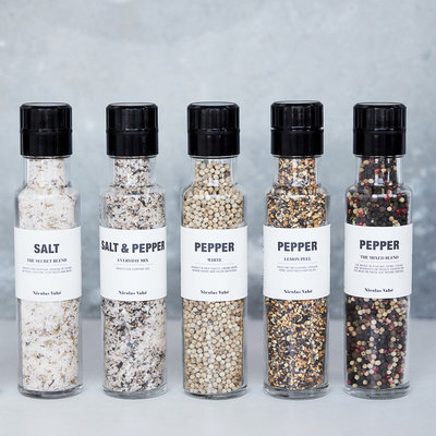 Nicolas Vahé - Salt and pepper Everyday mix