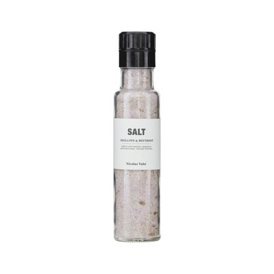 Nicolas Vahé - Salt with shallot & beetroot