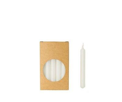 Rustik Lys - Kleine Kerzen Weiß S