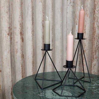 MrsBloom - Kerzenständer Jasper schwarz