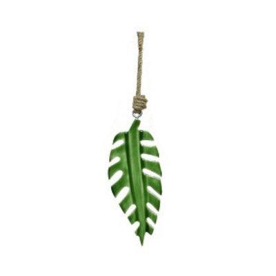 Bananenblatt Holz grün