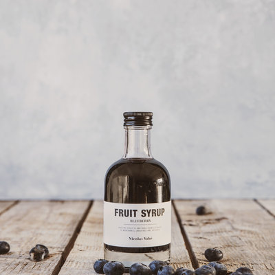 Nicolas Vahé - Fruit syrup Blue berry