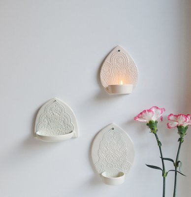 Kesemy design - Wandkerzenständer Lighten up Peach S