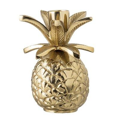 Bloomingville - Kerzenhalter Ananas Gold