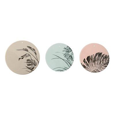Bloomingville - Deko Teller Sooji mint