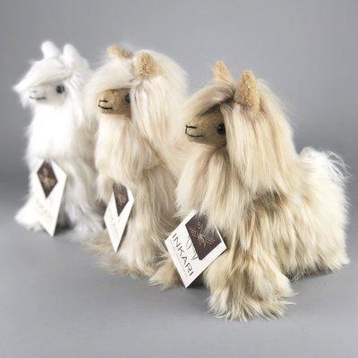 Inkari - Alpaca Stofftier Suri Elfenbein Small
