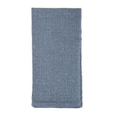 Bloomingville - Plaid Blau 100x80