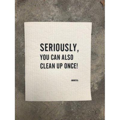 Mijn Stijl - Spültuch biodegradable seriously